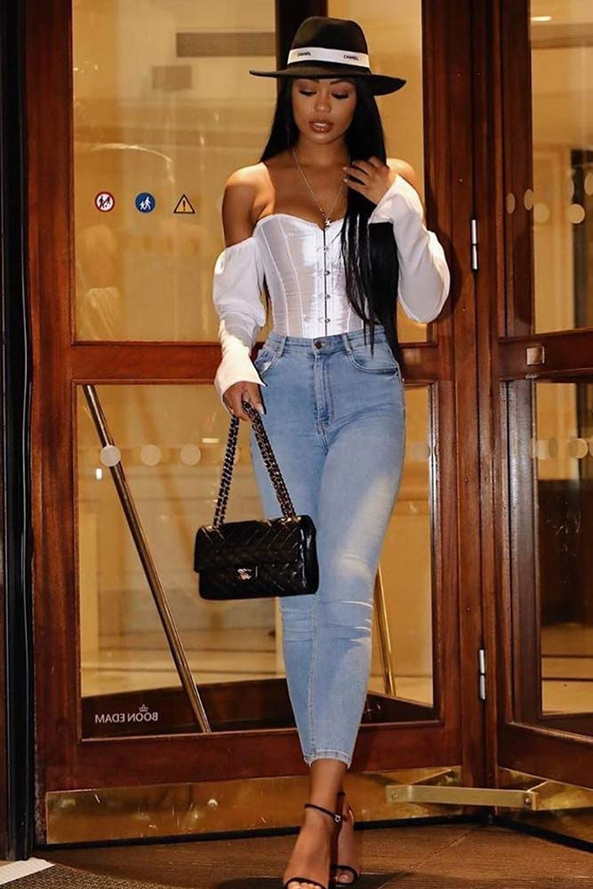 Off The Shoulder White Top #whitetop