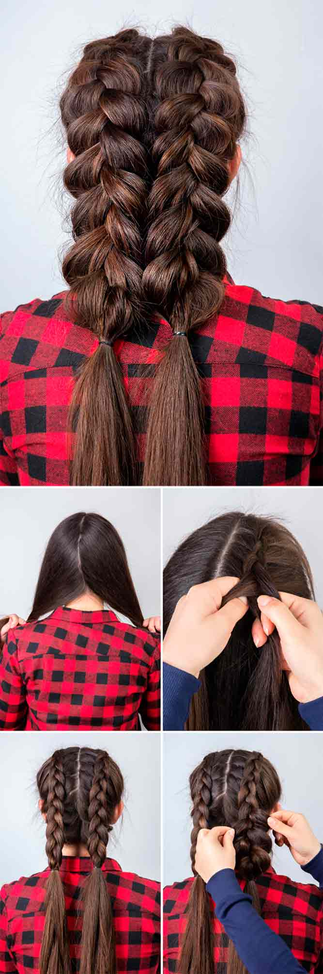 Braided Pigtails #tutorial #hairtutorial