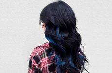 Embrace The Magnetic Beatty Of Blue Black Hair Trend
