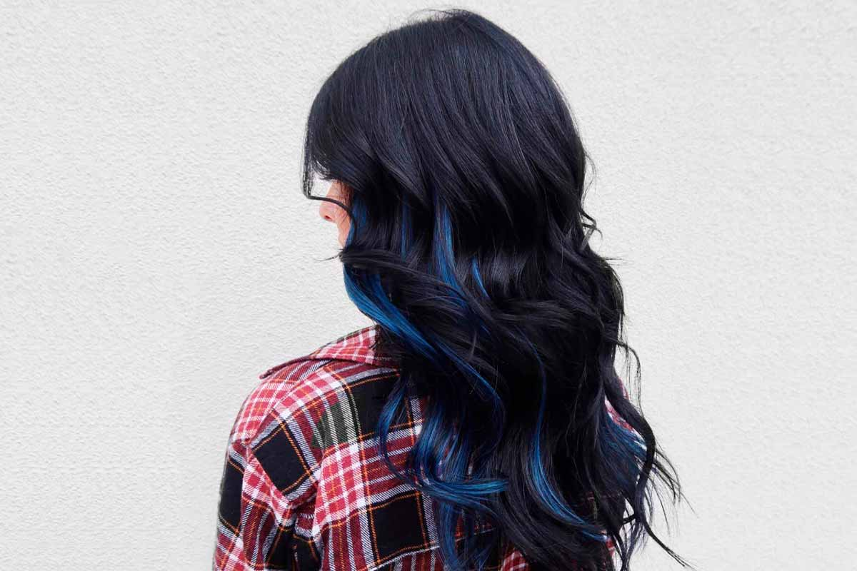 Embrace The Magnetic Beauty Of Blue Black Hair Trend