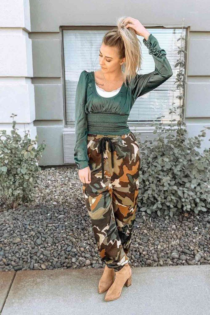 Long Sleeve Top With Pants #top #boots