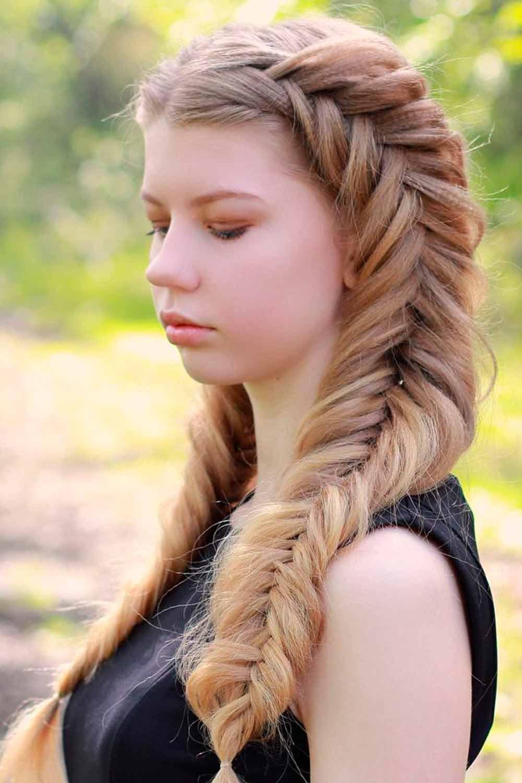 Double Fishtail Braids #fishtailbraids #doublebraids