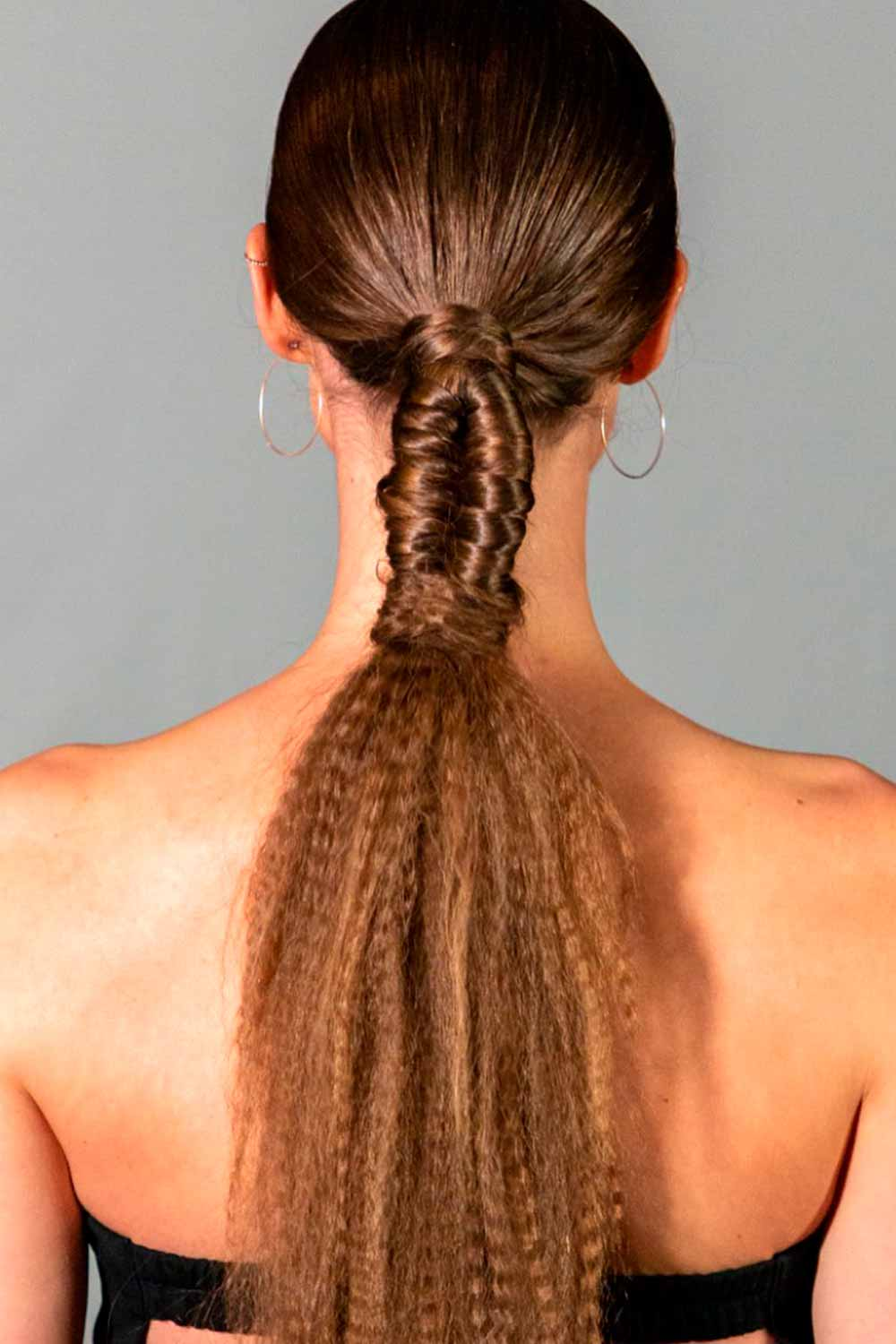 Low Ponytail #lowponytail #casualhairstyle