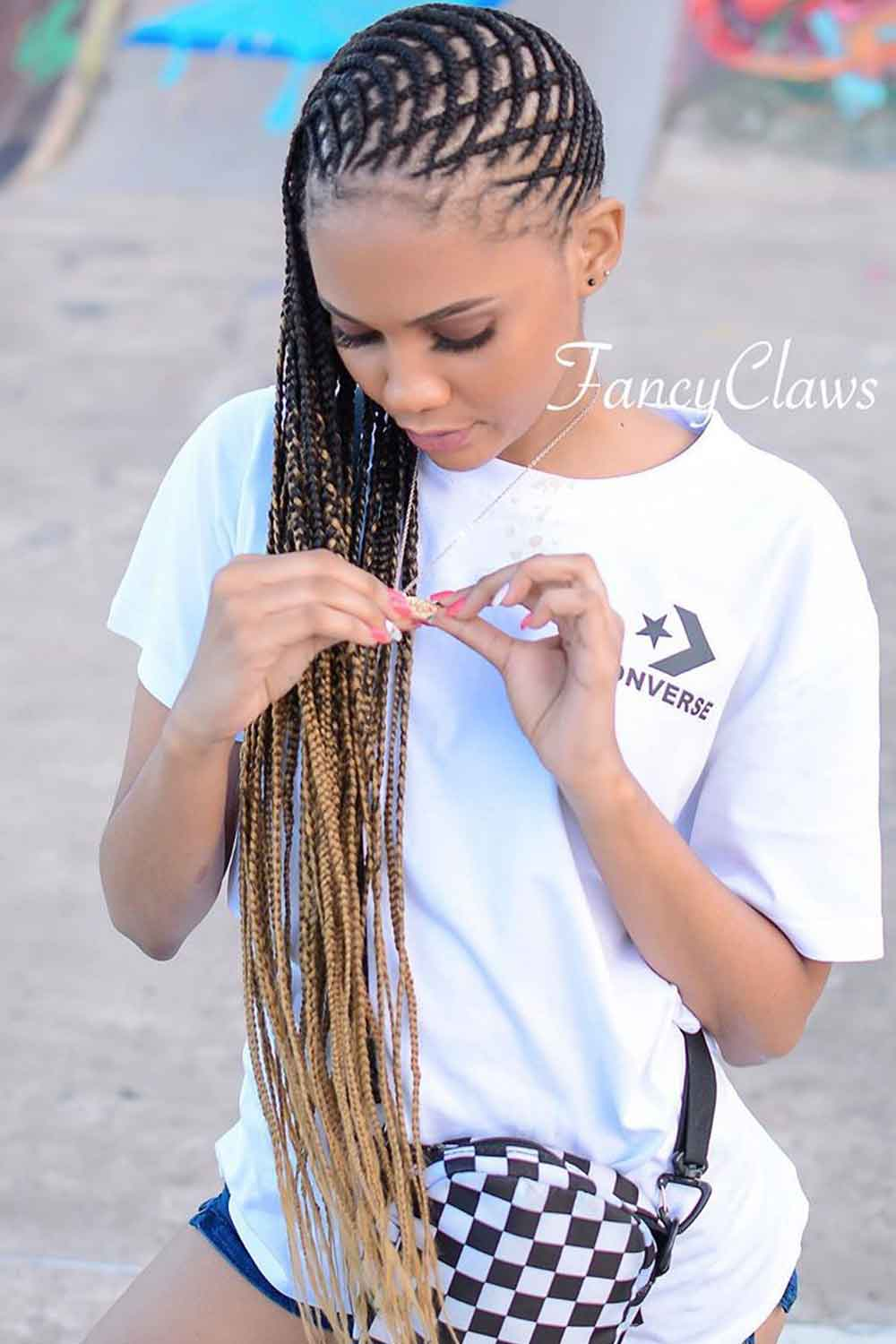 Hair Extensions For Fulani Braids #stylishhairstyles #coolhairstyles