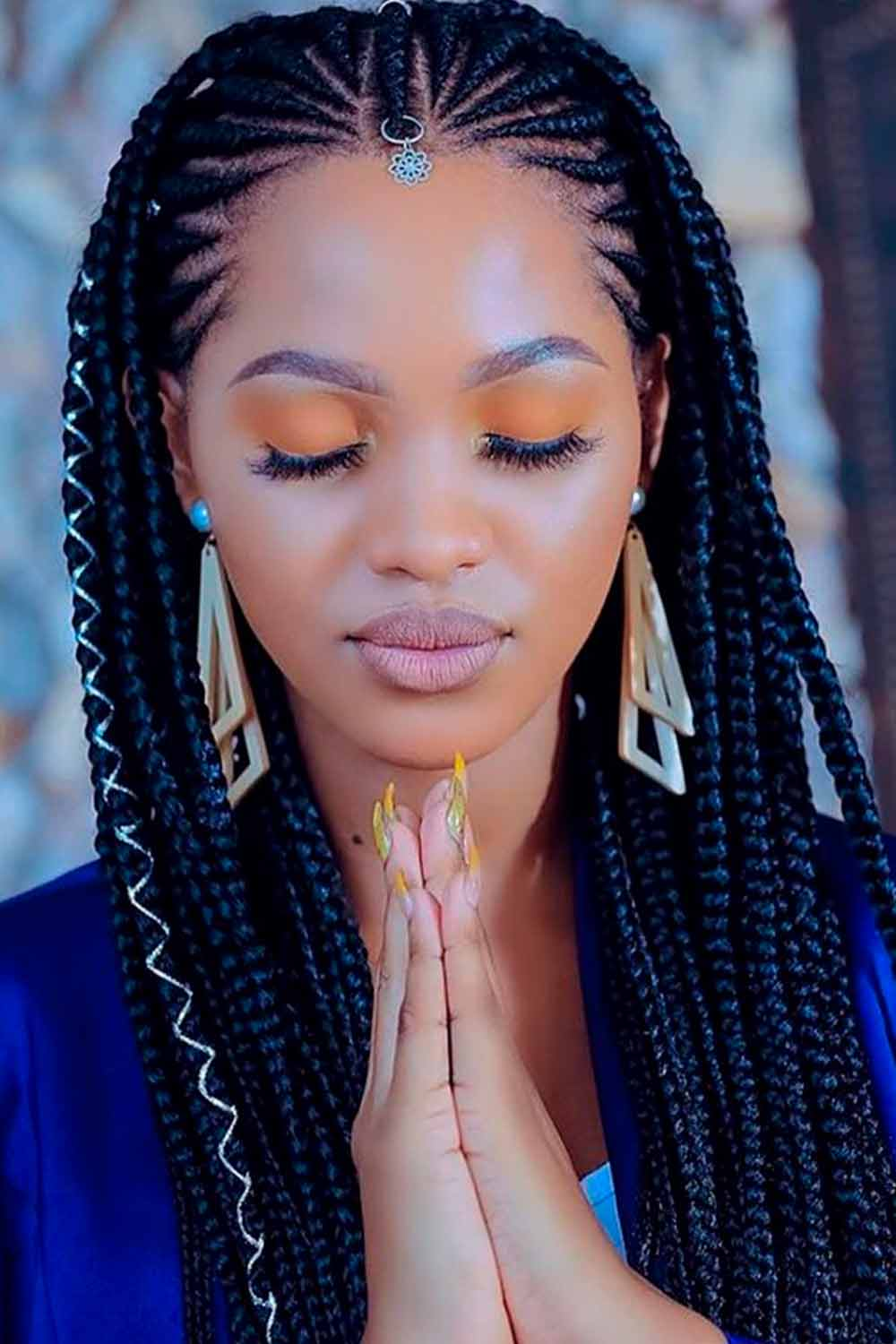 What Do Fulani Braids Look Like? #braids #bohemianlook