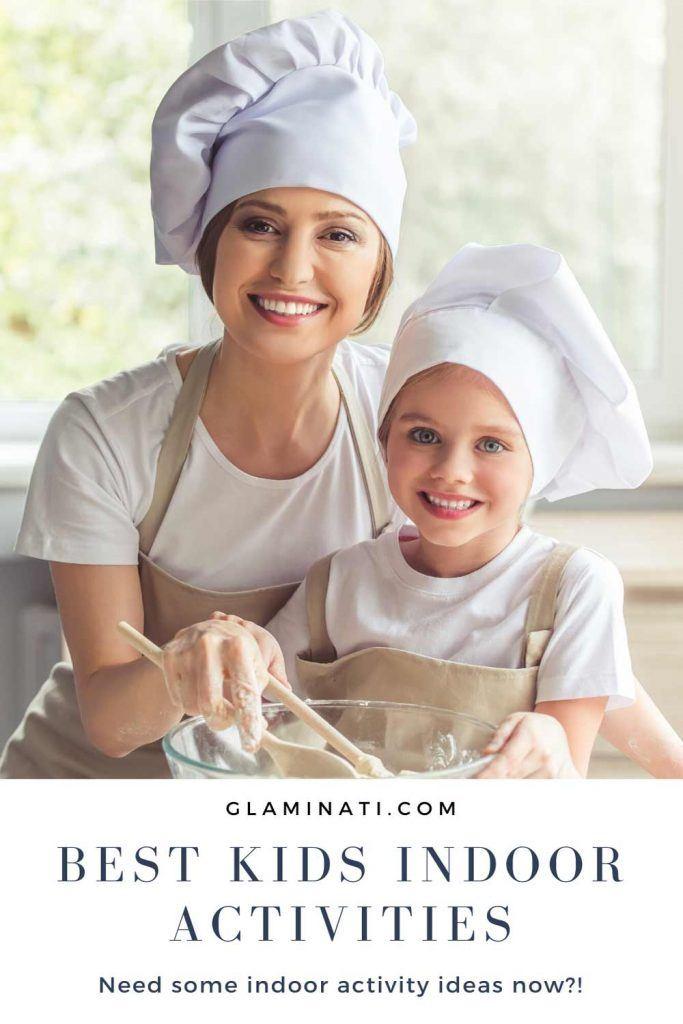 Bake And Decorate - Indoor Activities #cooking