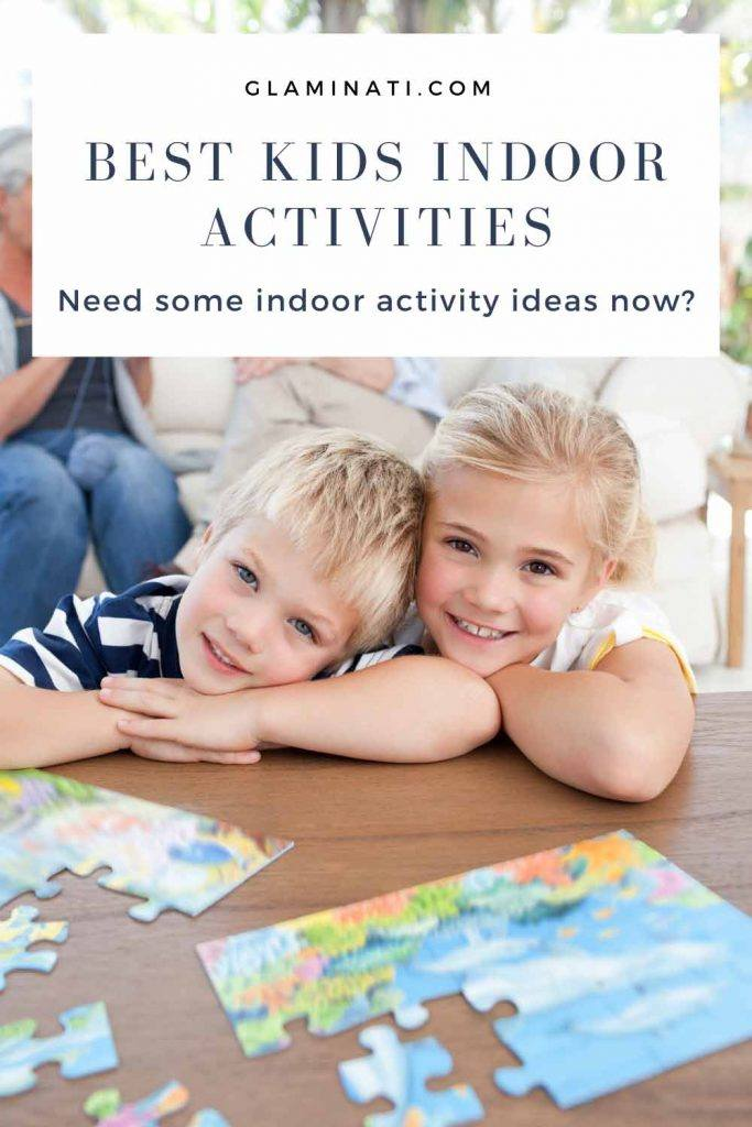 Leave Out A Jigsaw Puzzle - Indoor Activities #familygame