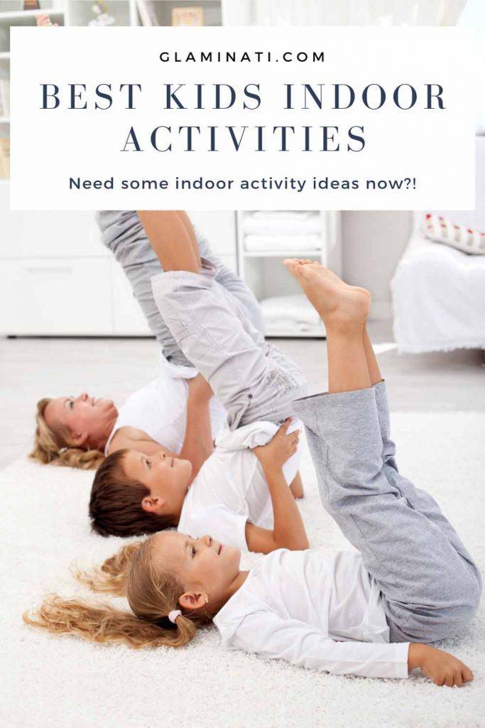 Kids Yoga - Indoor Activities #sportactivity