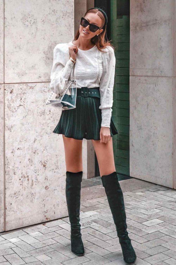 Shorts With White Blouse #short #whiteblouse