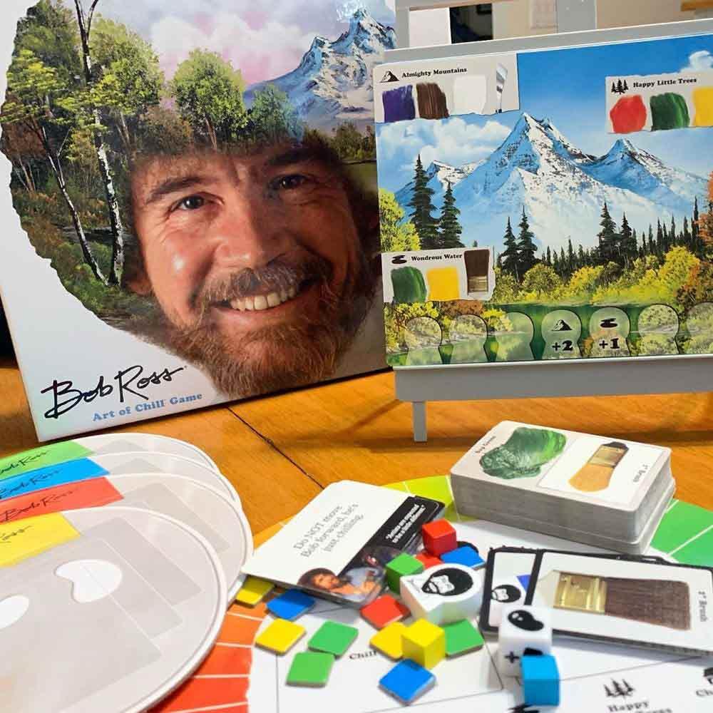 Bob Ross: Art of Chill Game #bobrossgame
