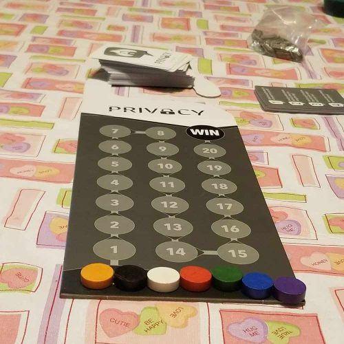 Privacy Board Game #privacygame