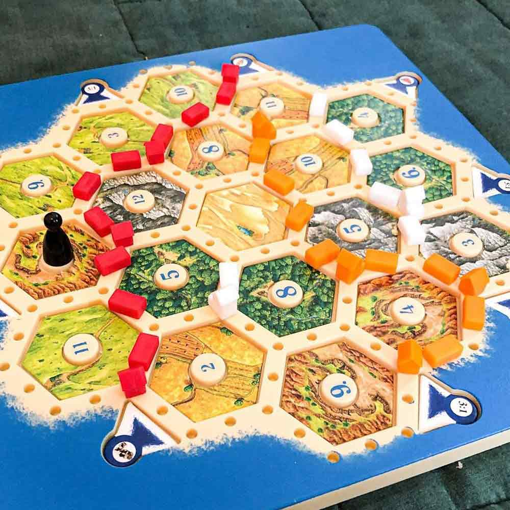 Settlers Of Catan Board Game #settlersofcatangame