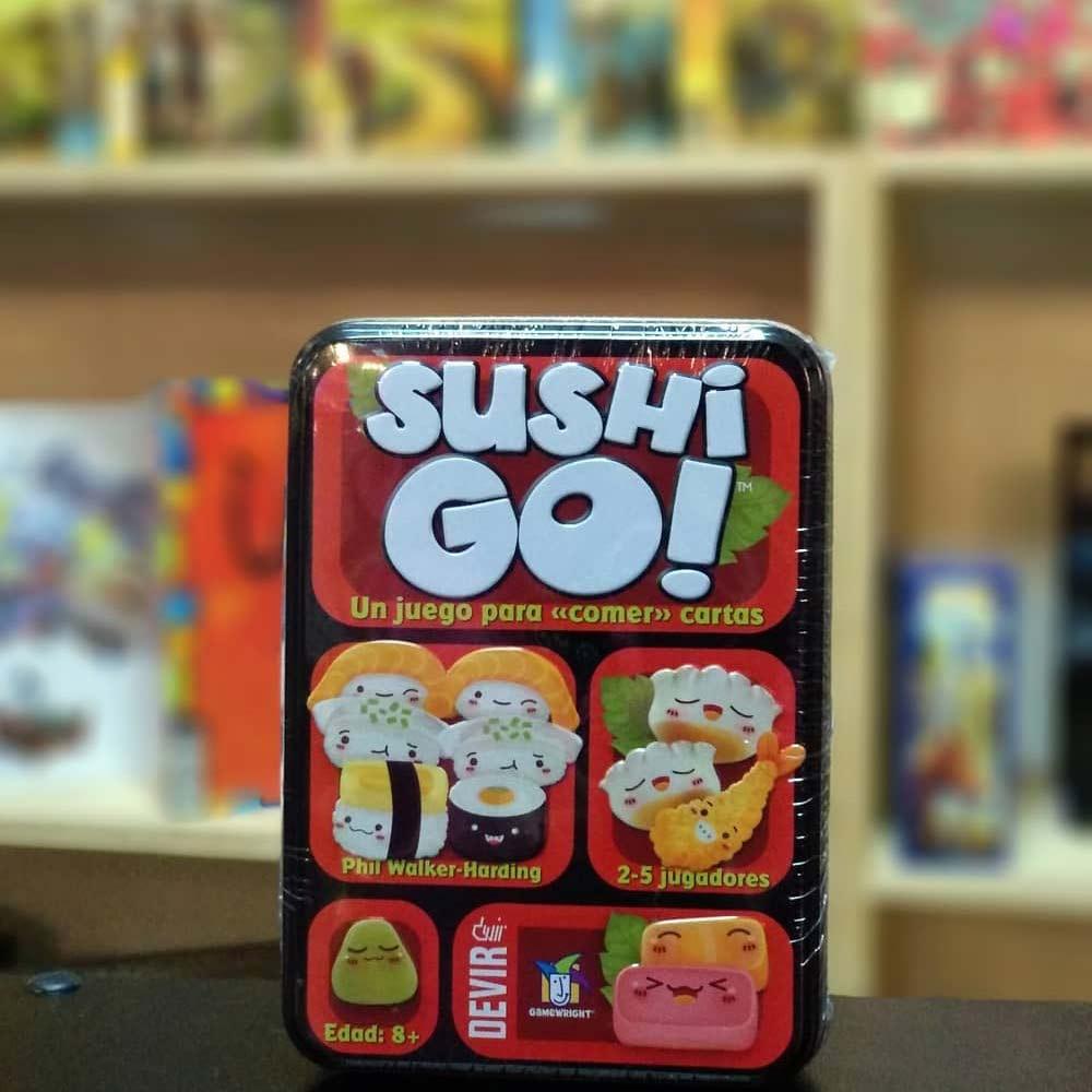 SUSHI GO New Packaging #sushigo