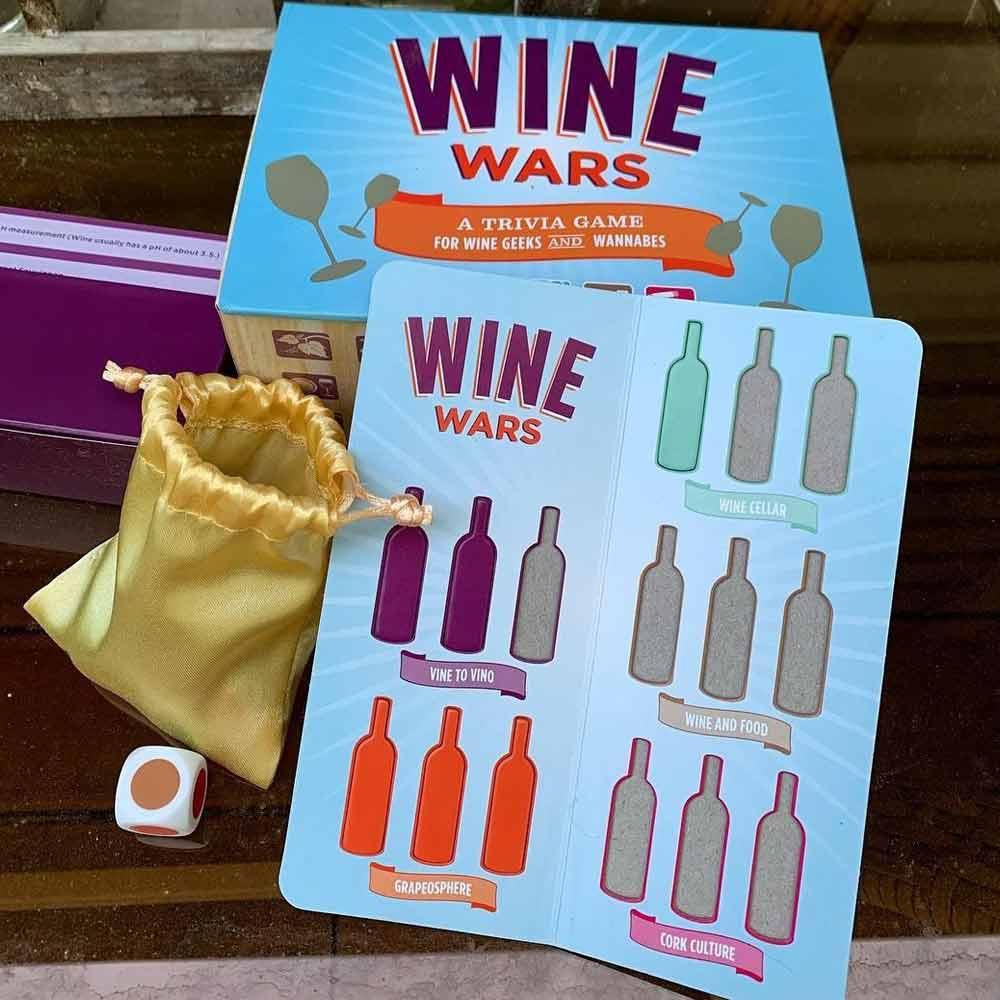 Wine Wars Trivia Game #winewars