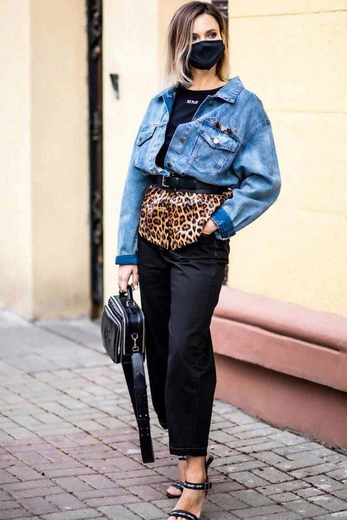 Casual Outfit With Denim Jacket #denimjacket