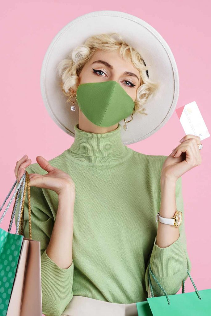 Green Mask with Green Longsleeve