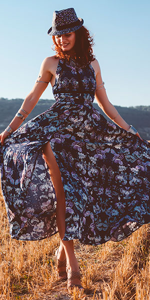 Cute Maxi Dresses – From Boho To Evening Styles