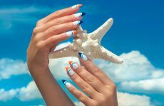 40+ Swimming Pool Summer Nail Art Ideas That Will Cheer You Up