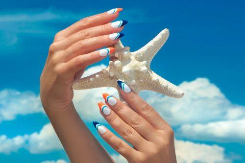 Swimming Pool Summer Nail Art Ideas That Will Cheer You Up