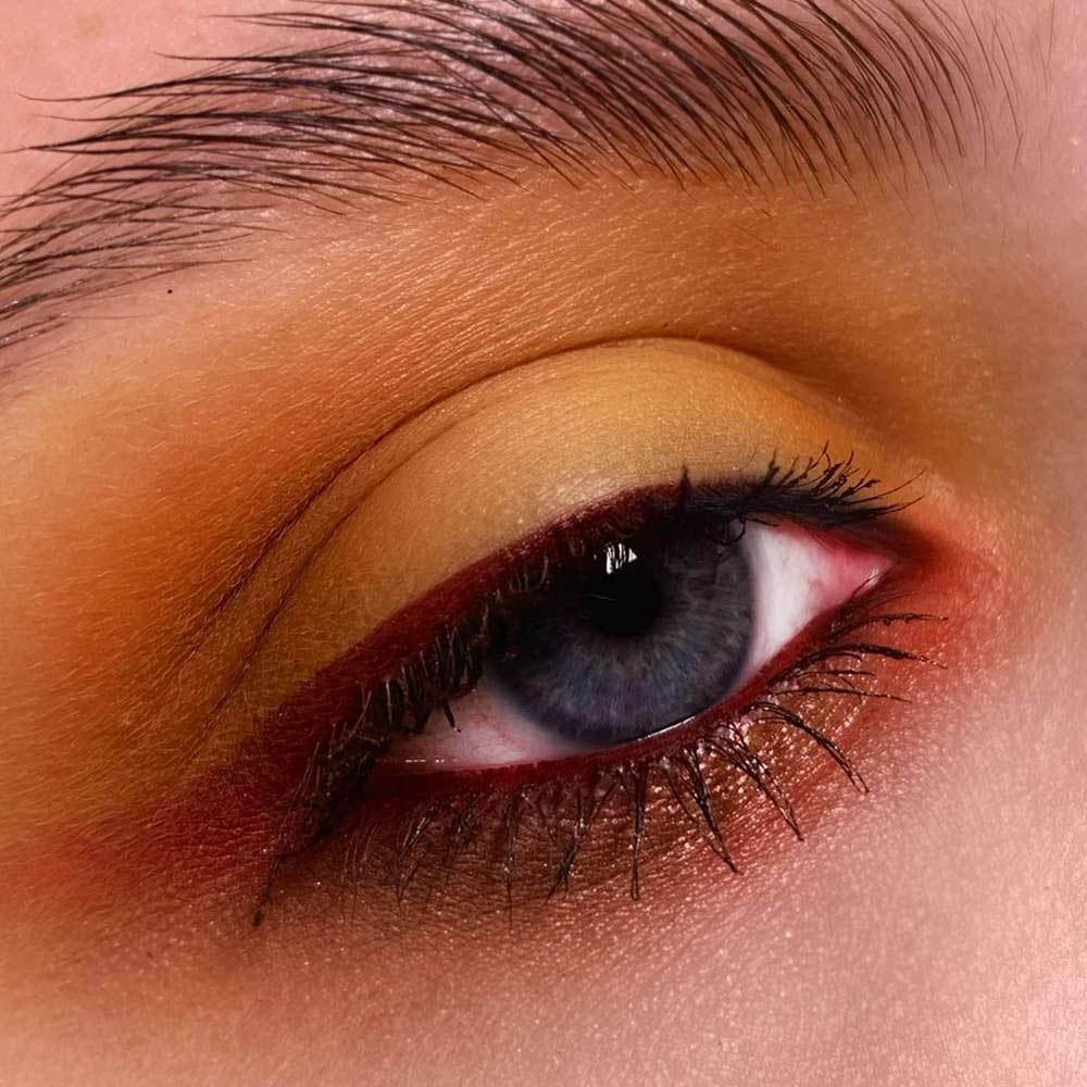 Fall Unusual Eyes Makeup Ideas