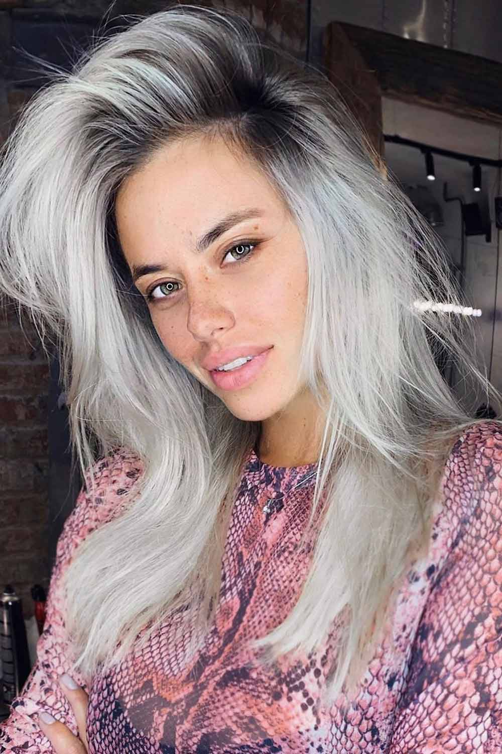 Blonde Ombre and Ash Ombre Hair