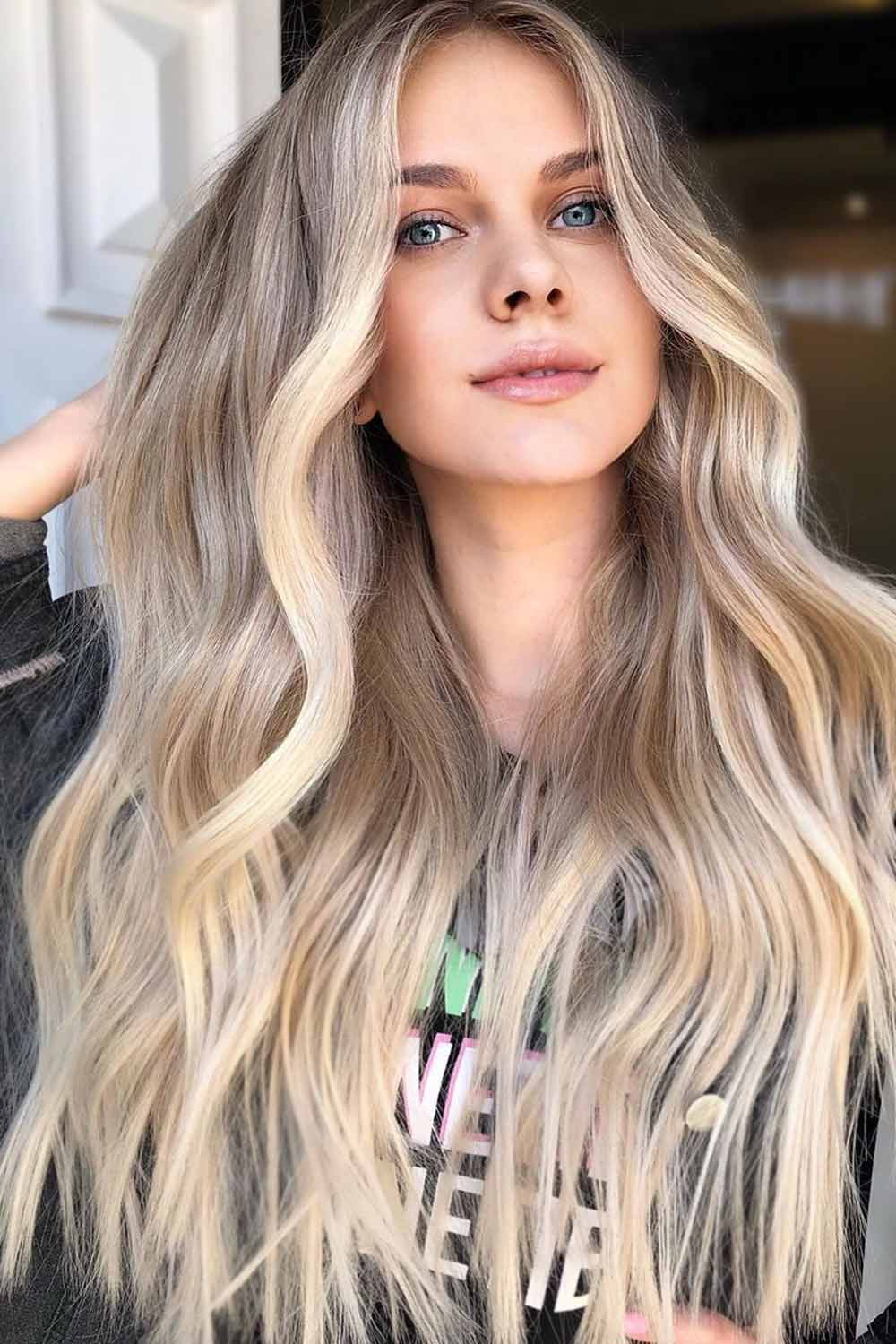 Beauty Blonde Ombre on Medium and Long Hair