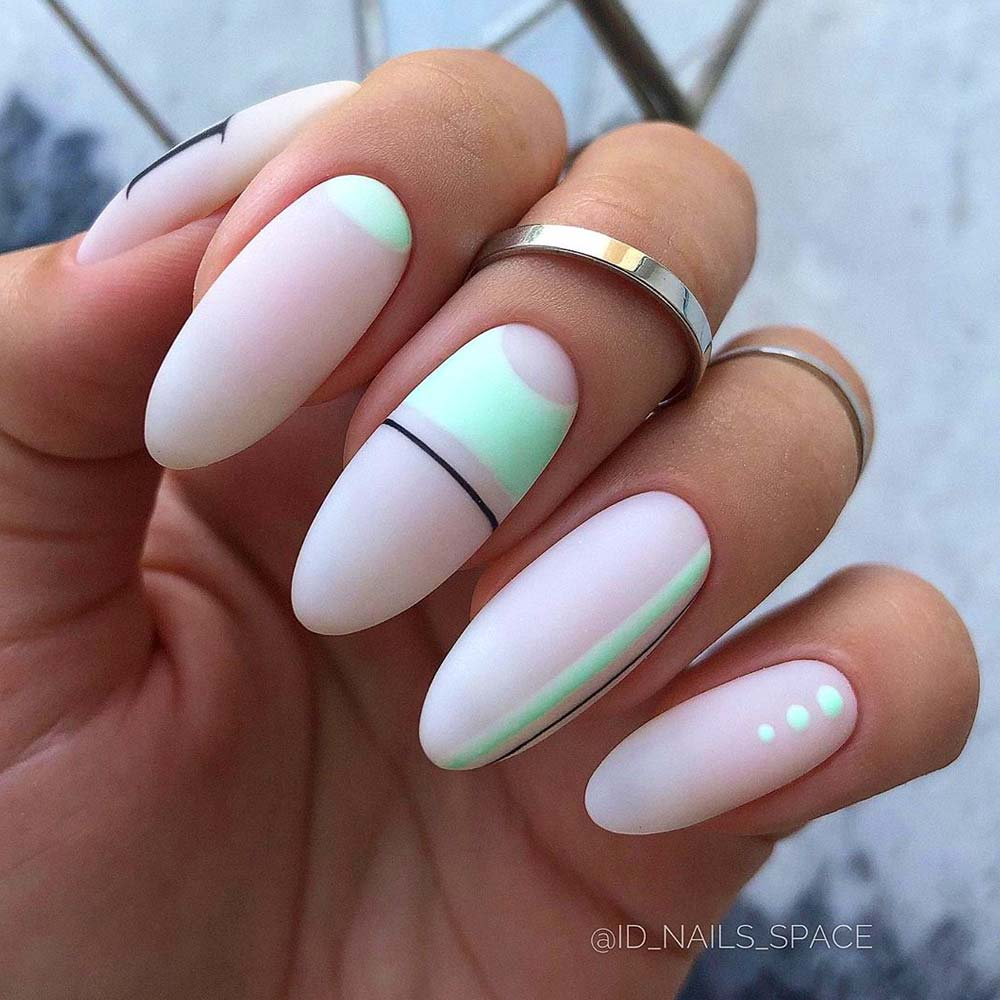 Stylized Geometric and Abstract Nails