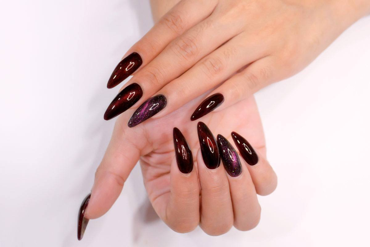 Newest Burgundy Nails Designs You Should Definitely Try
