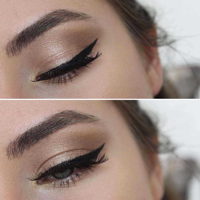 Winged Eyeliner Ideas For Downturned Eyes
