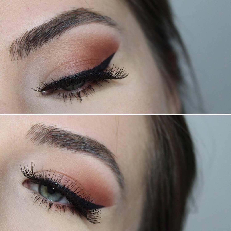Winged Eyeliner Style For Downturned Eye Shape