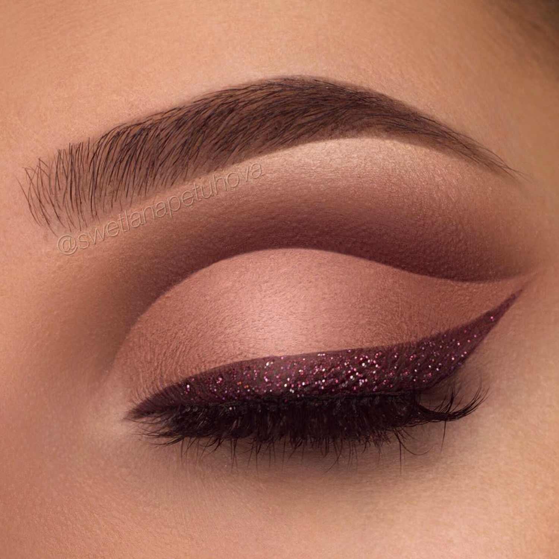 Beauty Winged Eyeliner Style For Round Eye Shape