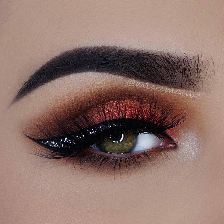 Night Winged Eyeliner Makeup