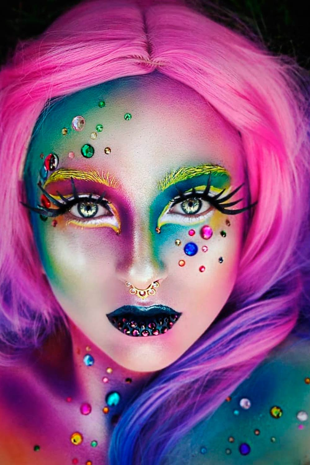 Mermaid Makeup Idea