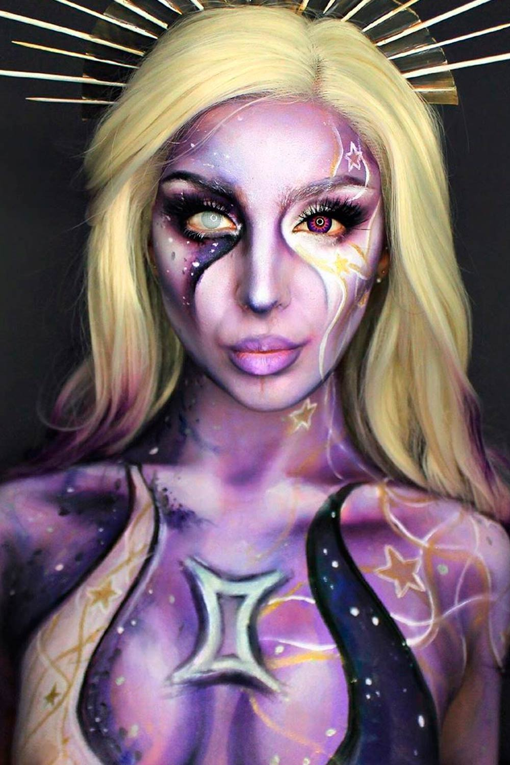 Amazing Galaxy Makeup