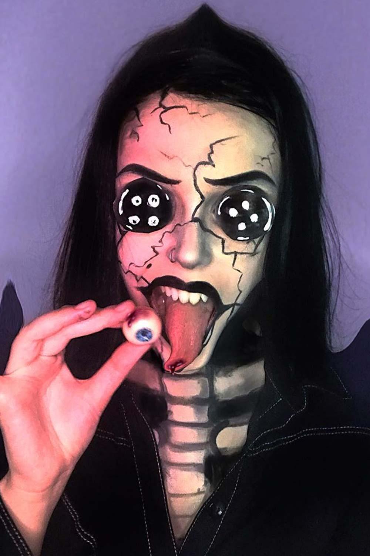 Movie and Cartoons Halloween Makeup Ideas