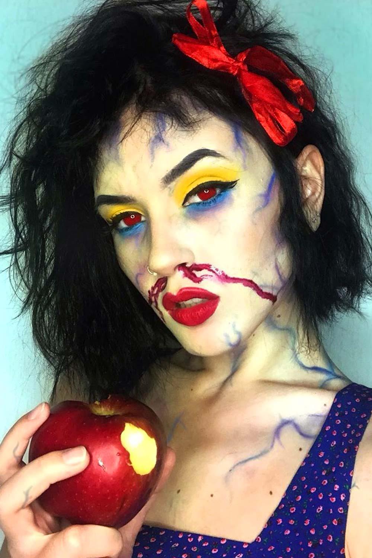 Cartoons Halloween Makeup Ideas