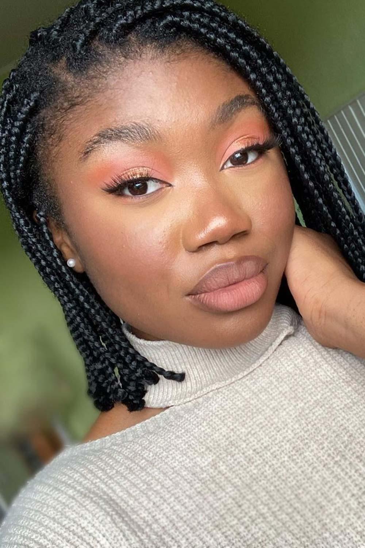 Copper Eyeshadow Shades for Darker Skin