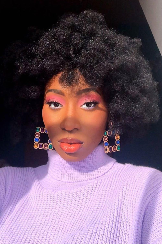 Pink Eyeshadow Colors for Darker Skin