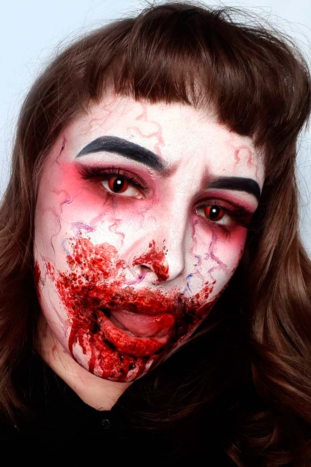 Scary Vampire Makeup Ideas