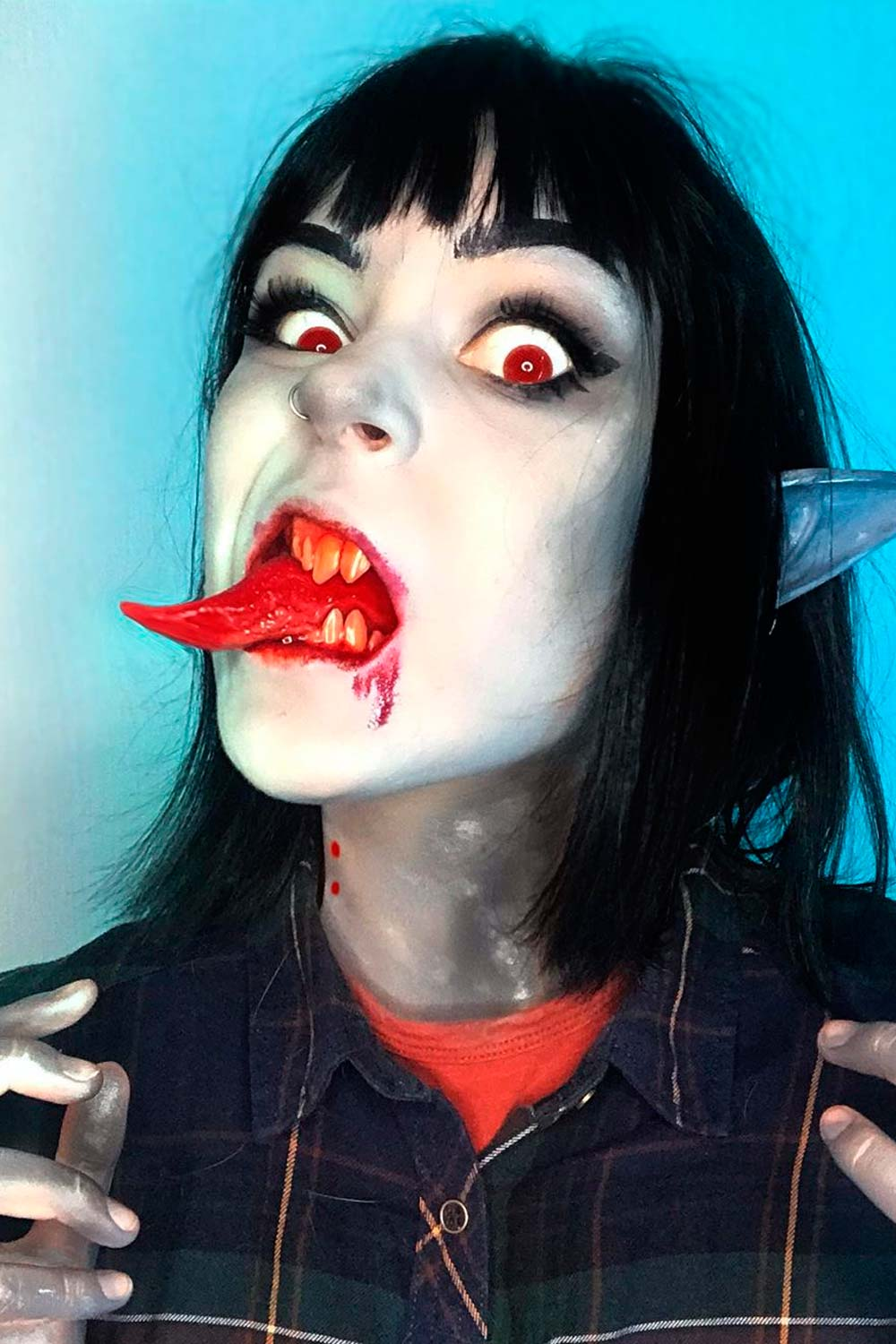Unusual Scary Vampire Makeup Ideas