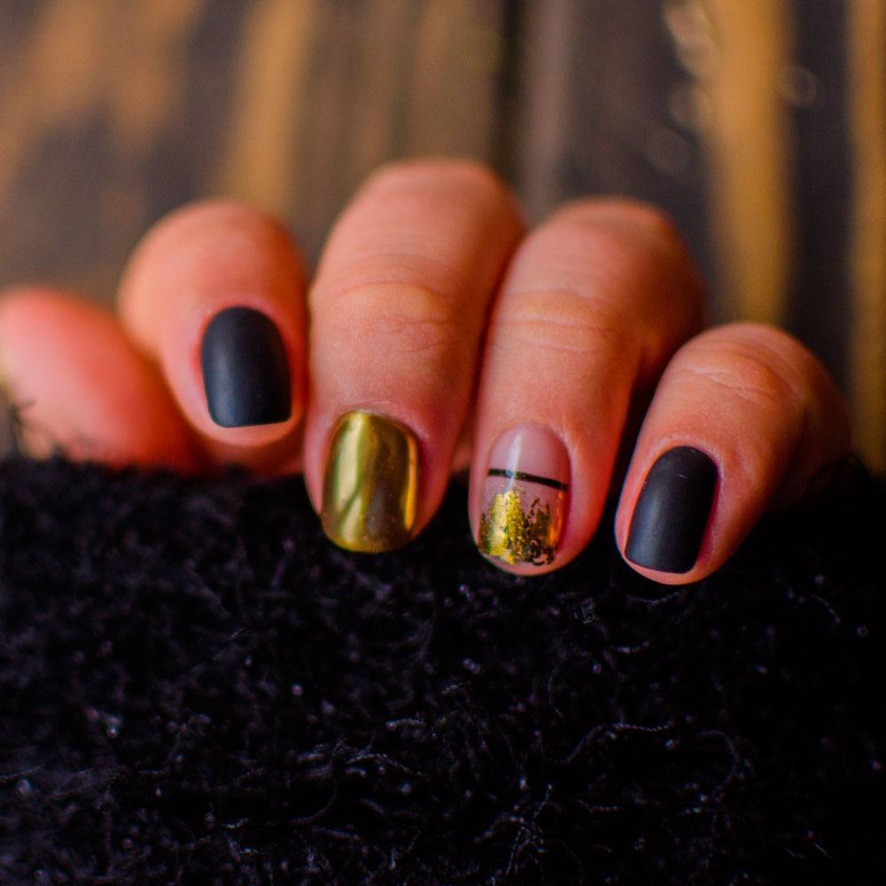 Cute Fall Designs For Short Nails