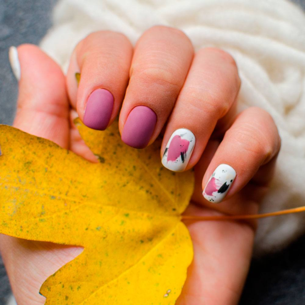 Fall Nail Art For Short Nails