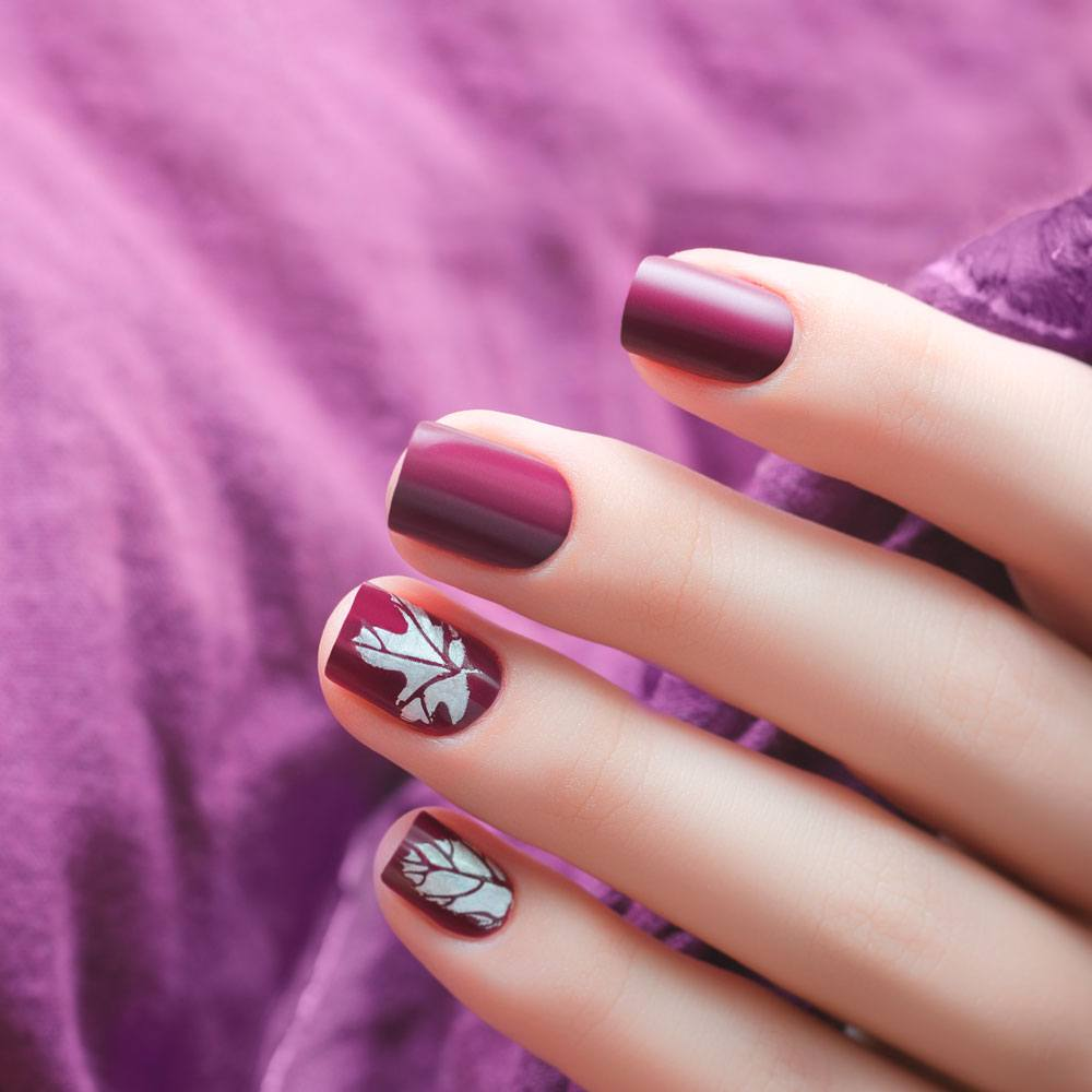 Easy Fall Nail Design Ideas