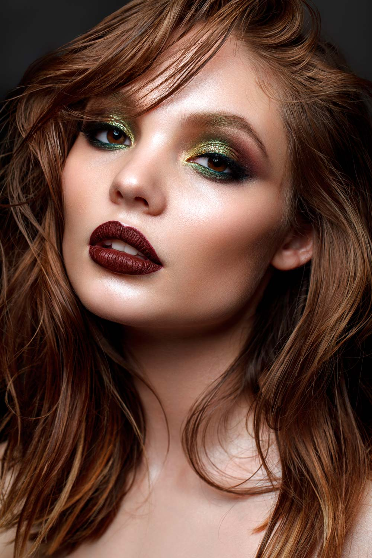 Bright Night Fall Makeup Look