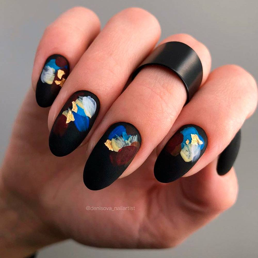 Creative Thanksgiving Nail Art Designs