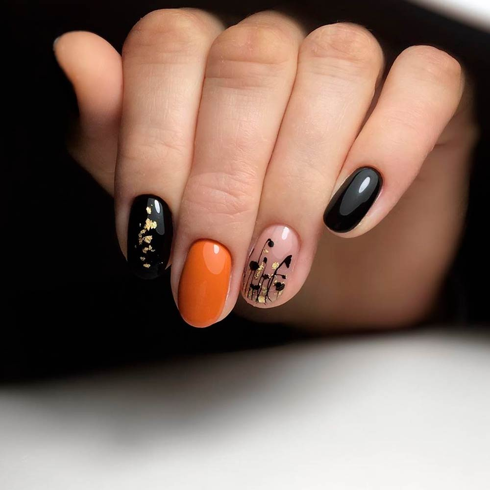 Everyday Fall Nail Designs