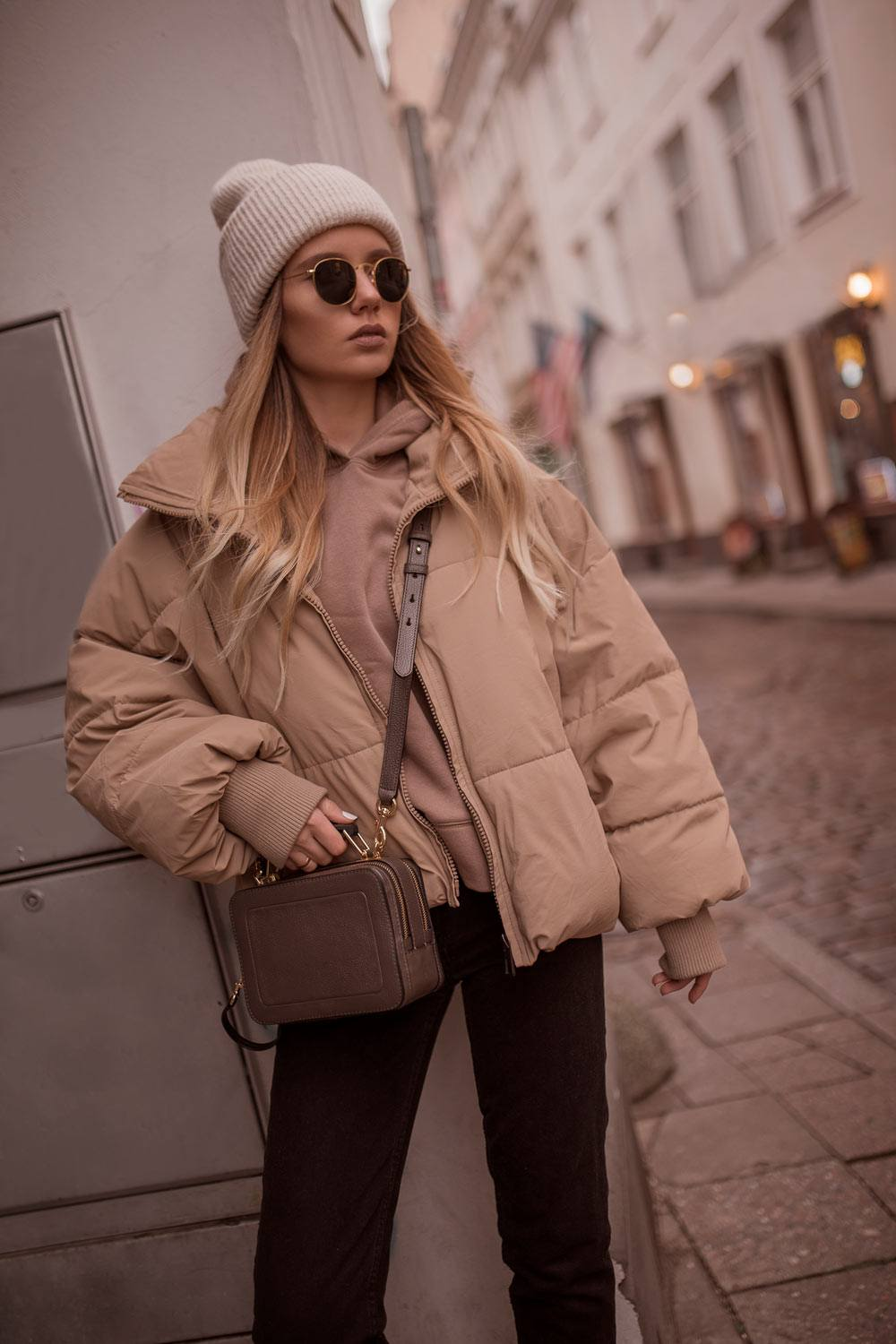 Winter Outfits With Puffy Jacket