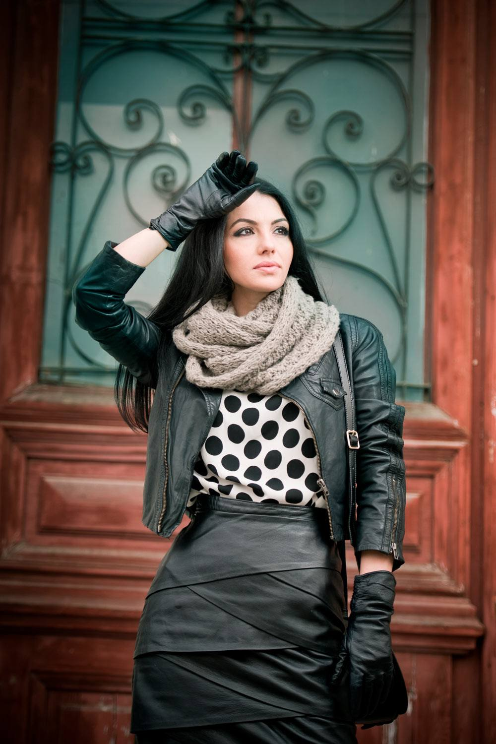 Coats With Wrap Up Scarf