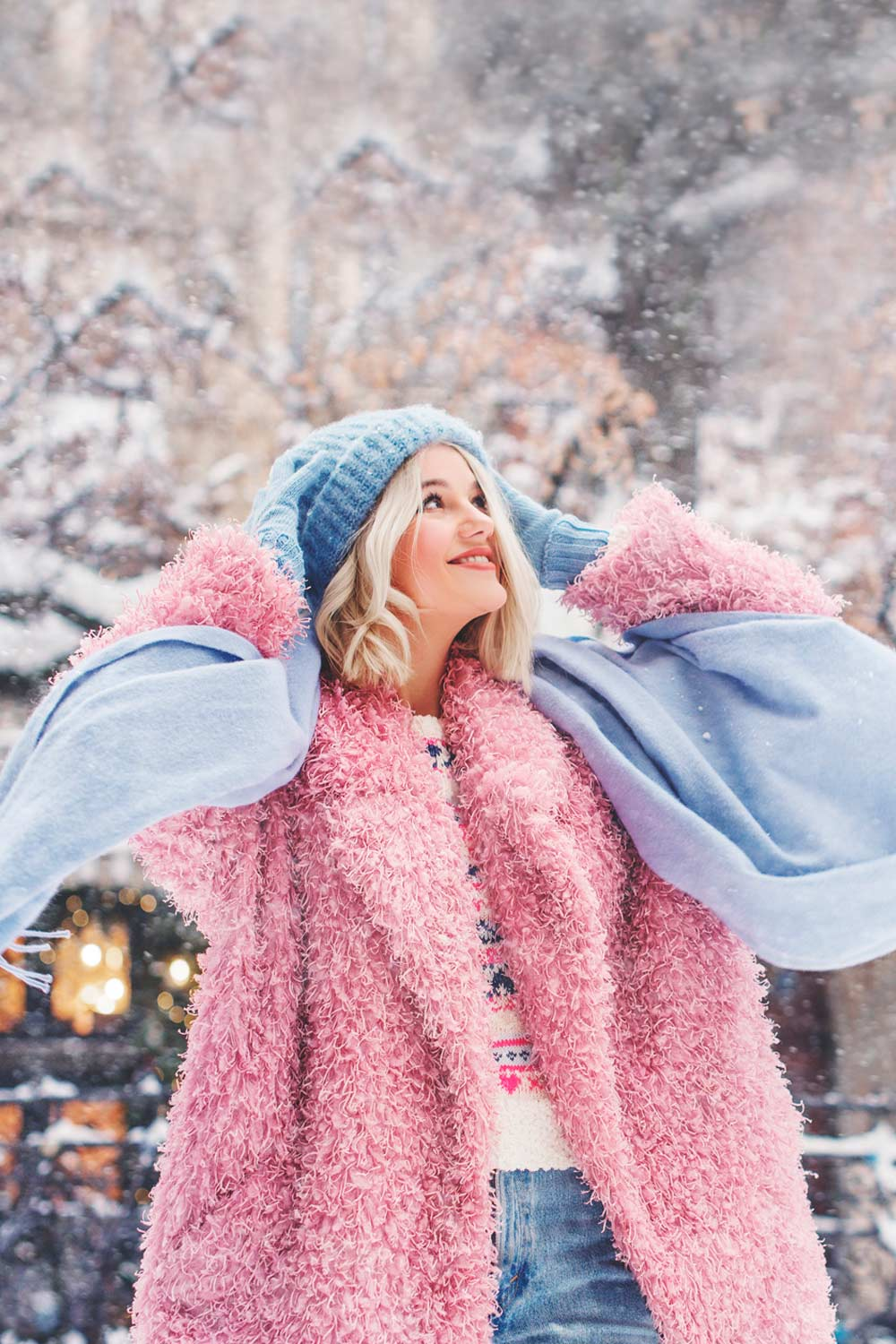 Pink Color For Winter Outfits