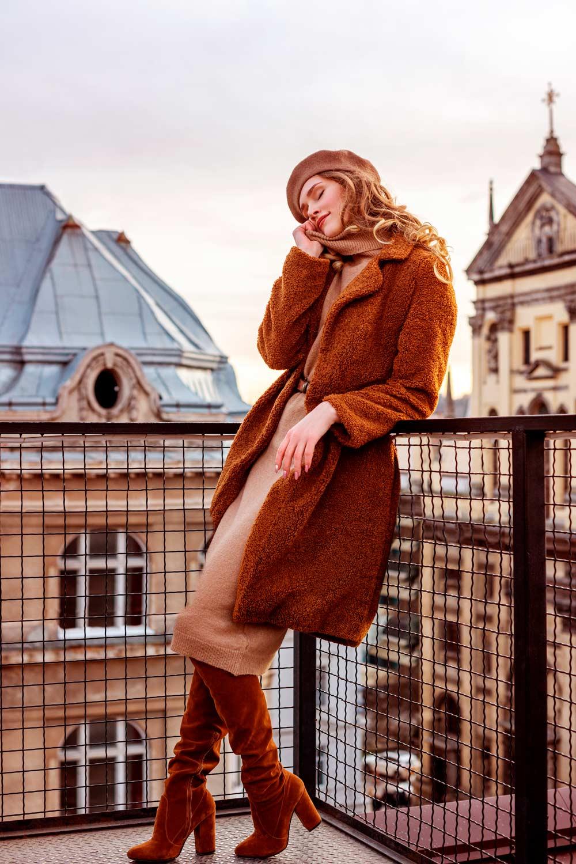 Teddy Faux Fur Coat Outfit Ideas